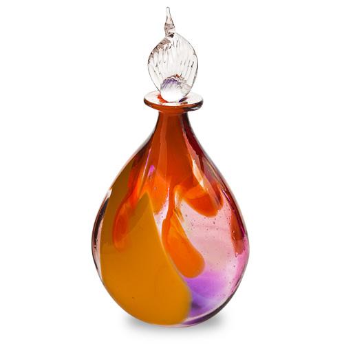 Naia Miniature Double Swirl Perfume Malta,Glass Perfume Bottles Malta, Glass Perfume Bottles, Mdina Glass