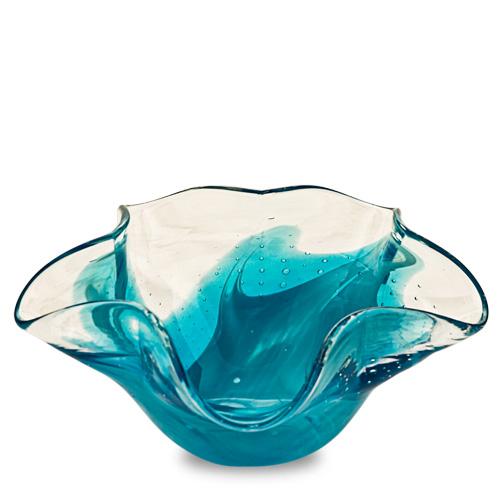 Rough Seas Miniature Star Bowl Malta,Glass Decorative Bowls Malta, Glass Decorative Bowls, Mdina Glass