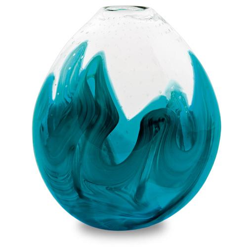 Rough Seas Medium Dimi Vase Malta,Glass Rough Seas Malta, Glass Rough Seas, Mdina Glass