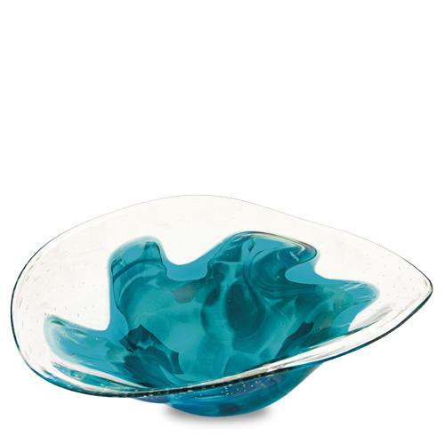 Rough Seas Medium Moon Bowl Malta,Glass Rough Seas Malta, Glass Rough Seas, Mdina Glass