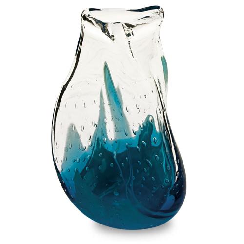 Rough Seas Miniature Triple Swirl Vase Malta,Glass Vases Malta, Glass Vases, Mdina Glass