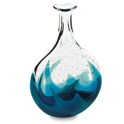 Rough Seas Miniature Lollipop Bottle Vase Malta,Glass Vases Malta, Glass Vases, Mdina Glass