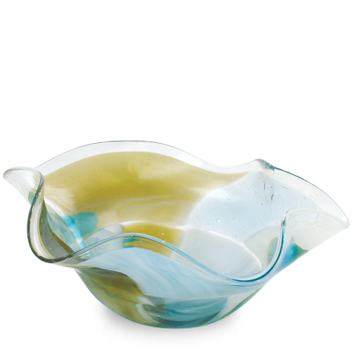 Vanilla Sky Medium Star Bowl Malta,Glass Vanilla Sky Malta, Glass Vanilla Sky, Mdina Glass