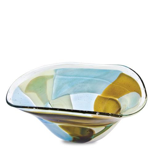 Vanilla Sky Large Tri Bowl Malta,Glass Vanilla Sky Malta, Glass Vanilla Sky, Mdina Glass