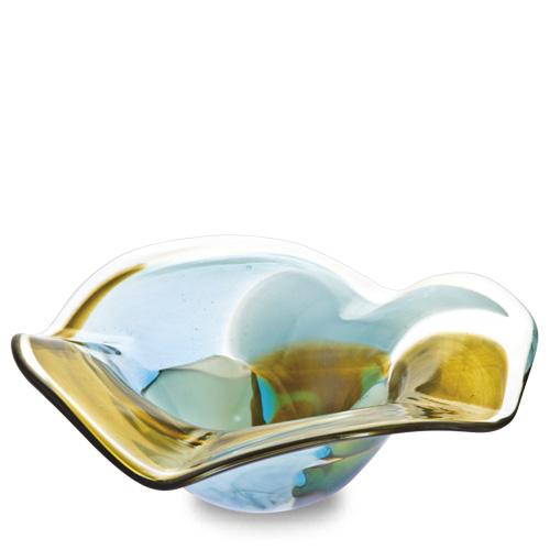 Malta,  Malta,Glass Ashtrays Malta,Glass Ashtrays, Vanilla Sky Miniature Flat Side Ashtray Malta, Mdina Glass Malta