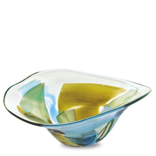 Vanilla Sky Large Moon Bowl Malta,Glass Vanilla Sky Malta, Glass Vanilla Sky, Mdina Glass