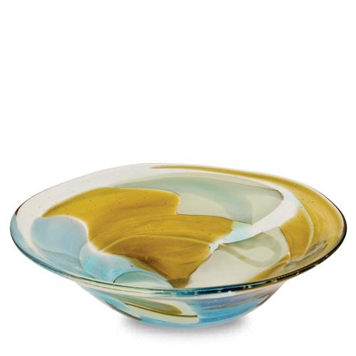 Vanilla Sky Medium Orbit Bowl Malta,Glass Vanilla Sky Malta, Glass Vanilla Sky, Mdina Glass