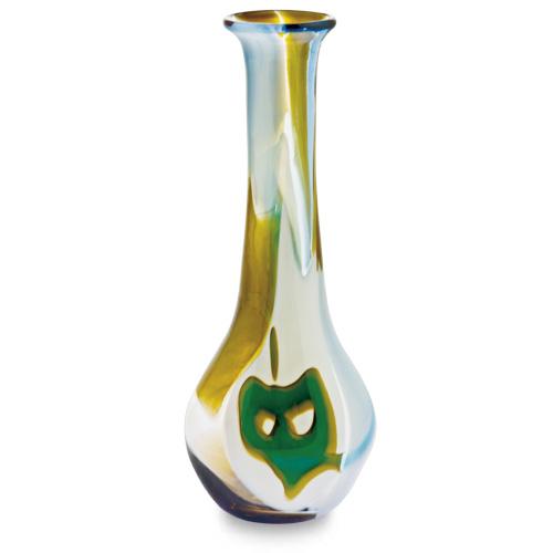 Vanilla Sky Miniature Baseball Vase Malta,Glass Vanilla Sky Malta, Glass Vanilla Sky, Mdina Glass