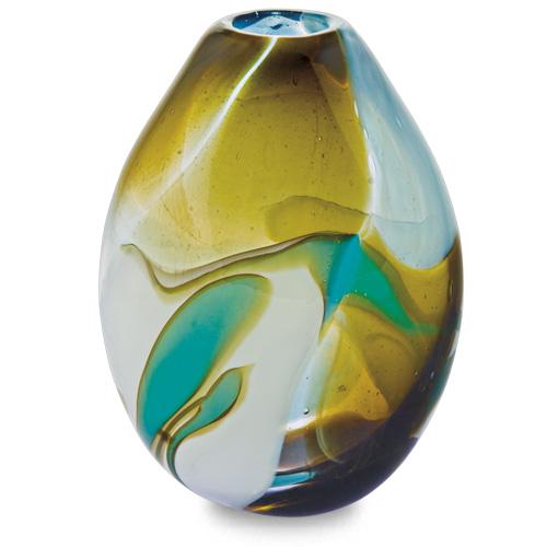 Vanilla Sky Miniature Dimi Vase Malta,Glass Vanilla Sky Malta, Glass Vanilla Sky, Mdina Glass