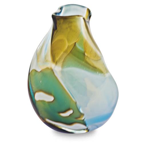 Vanilla Sky Miniature Double Swirl Vase Malta,Glass Vanilla Sky Malta, Glass Vanilla Sky, Mdina Glass