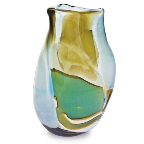 Vanilla Sky Miniature Triple Swirl Vase Malta,Glass Vanilla Sky Malta, Glass Vanilla Sky, Mdina Glass