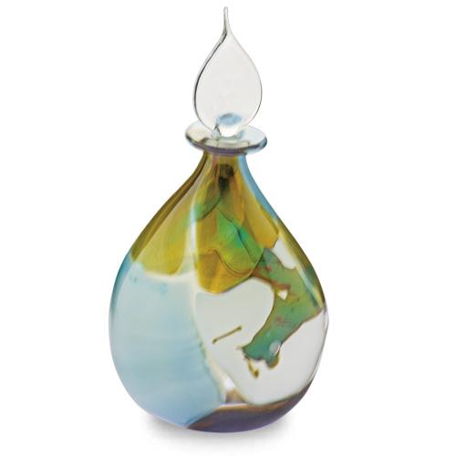 Vanilla Sky Miniature Double Swirl Perfume Malta,Glass Vanilla Sky Malta, Glass Vanilla Sky, Mdina Glass