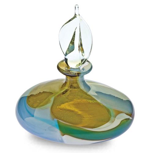 Vanilla Sky Miniature Flat MG Perfume Malta,Glass Perfume Bottles Malta, Glass Perfume Bottles, Mdina Glass