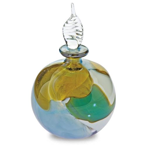 Vanilla Sky Miniature Round Perfume Malta,Glass Perfume Bottles Malta, Glass Perfume Bottles, Mdina Glass