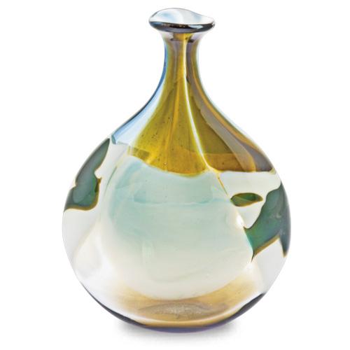Vanilla Sky Miniature Lollipop Bottle Vase Malta,Glass Vanilla Sky Malta, Glass Vanilla Sky, Mdina Glass