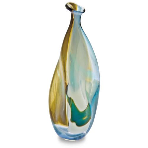 Vanilla Sky Miniature Triple Swirl Bottle Vase Malta,Glass Vanilla Sky Malta, Glass Vanilla Sky, Mdina Glass
