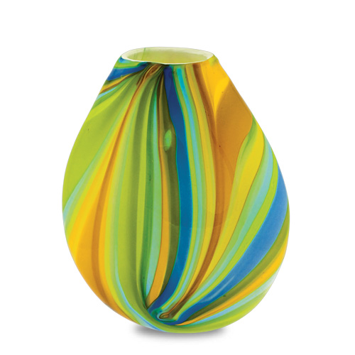 Vega Large Dimi Vase Malta,Glass Vega Malta, Glass Vega, Mdina Glass