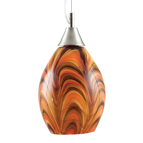 Zulu Small Hanging Barrel Light Malta,Glass Contemporary Collection Malta, Glass Contemporary Collection, Mdina Glass