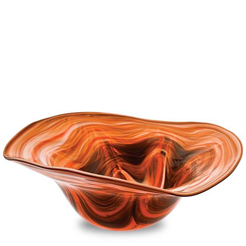 Zulu Large Tri Bowl Malta,Glass Zulu Malta, Glass Zulu, Mdina Glass
