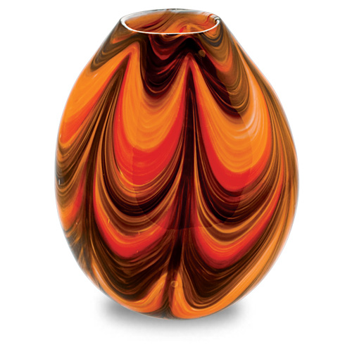 Zulu Medium Dimi Vase Malta,Glass Zulu Malta, Glass Zulu, Mdina Glass