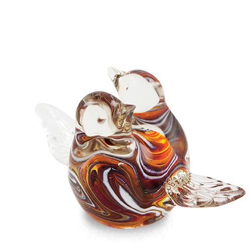 Lovebirds Malta,Glass Animals Malta, Glass Animals, Mdina Glass