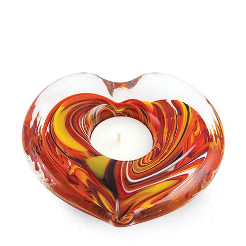 Heart Candleholder Malta,Glass Candleholders Malta, Glass Candleholders, Mdina Glass