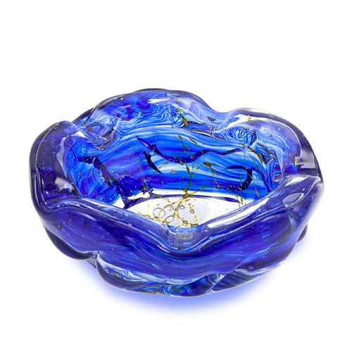 Decorative Ashtray Malta,Glass Solid Range Malta, Glass Solid Range, Mdina Glass
