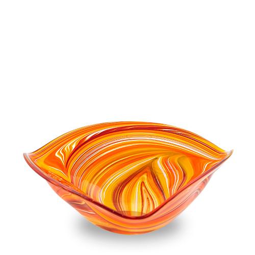 Lifestyle 'B' Large Tri Bowl Malta,Glass Lifestyle 'B' Malta, Glass Lifestyle 'B', Mdina Glass