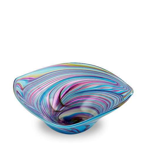 Lifestyle 'D' Large Tri Bowl Malta,Glass Lifestyle 'D' Malta, Glass Lifestyle 'D', Mdina Glass