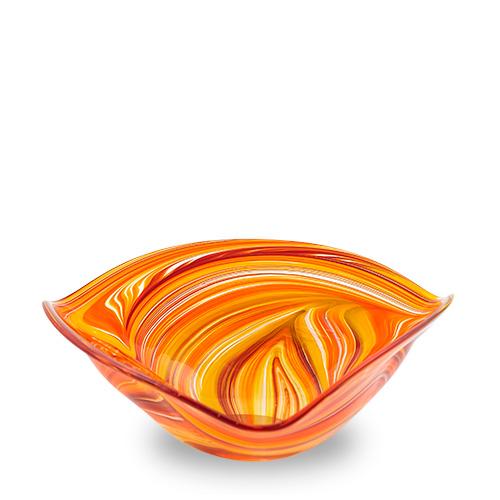 Lifestyle 'B' Medium Tri Bowl Malta,Glass Lifestyle 'B' Malta, Glass Lifestyle 'B', Mdina Glass