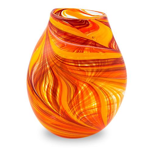 Lifestyle 'B' Large Double Swirl Vase Malta,Glass Lifestyle 'B' Malta, Glass Lifestyle 'B', Mdina Glass