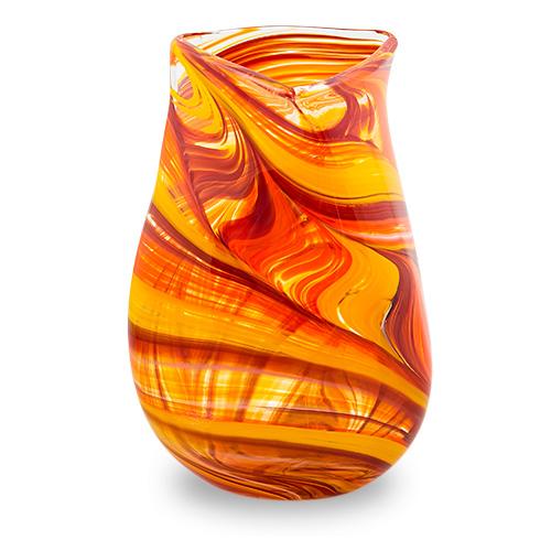 Lifestyle 'B' Large Triple Swirl Vase Malta,Glass Lifestyle 'B' Malta, Glass Lifestyle 'B', Mdina Glass