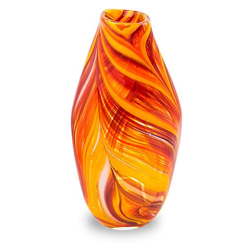 Lifestyle 'B' Medium Tall Double Swirl Vase Malta,Glass Lifestyle 'B' Malta, Glass Lifestyle 'B', Mdina Glass