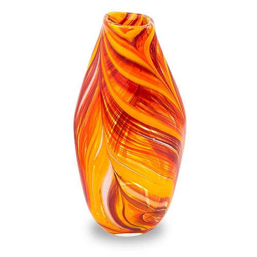 Lifestyle 'B' Large Tall Double Swirl Vase Malta,Glass Lifestyle 'B' Malta, Glass Lifestyle 'B', Mdina Glass