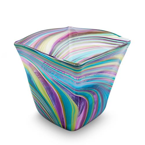 Lifestyle 'D' Medium Pot Vase 2 Malta,Glass Lifestyle 'D' Malta, Glass Lifestyle 'D', Mdina Glass
