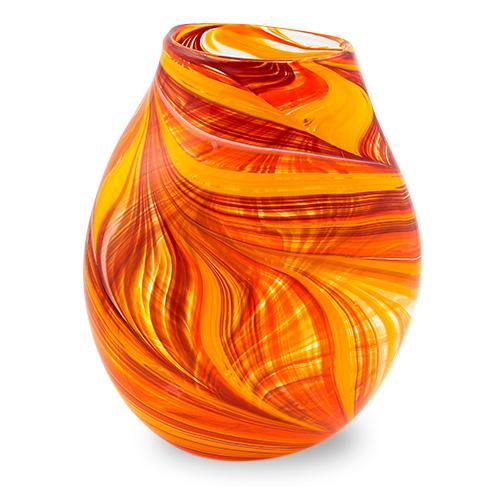 Lifestyle 'B' Medium Double Swirl Vase Malta,Glass Lifestyle 'B' Malta, Glass Lifestyle 'B', Mdina Glass