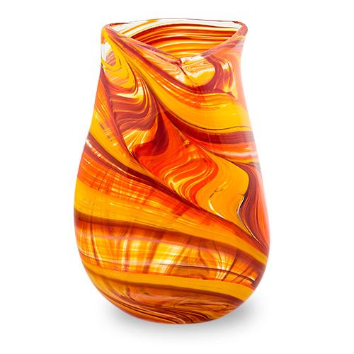 Lifestyle 'B' Medium Triple Swirl Vase Malta,Glass Lifestyle 'B' Malta, Glass Lifestyle 'B', Mdina Glass
