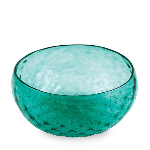 Mint Green Cracker Bowl Malta,Glass Textured Range Malta, Glass Textured Range, Mdina Glass