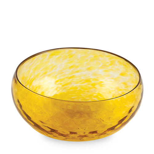 Amber Cracker Bowl Malta,Glass Textured Range Malta, Glass Textured Range, Mdina Glass