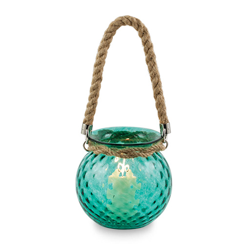 Ball Lantern with rope handle Malta,Glass Lanterns Malta, Glass Lanterns, Mdina Glass