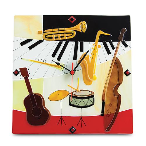 Instruments Clock Malta,Glass Clocks Malta, Glass Clocks, Mdina Glass