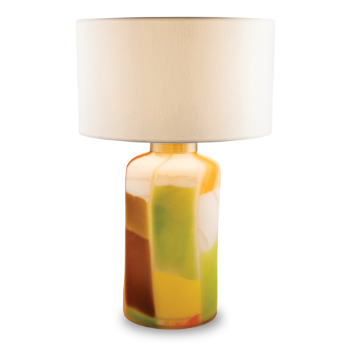 Africa large aspire table lamp frosted