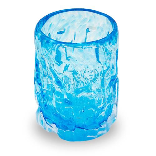 Short Tumbler Malta,Glass Bark Range Malta, Glass Bark Range, Mdina Glass