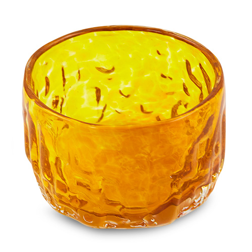 Medium Dip Bowl Malta,Glass Bark Range Malta, Glass Bark Range, Mdina Glass