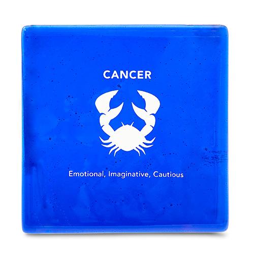 Cancer Coaster Malta,Glass Zodiac Coasters Malta, Glass Zodiac Coasters, Mdina Glass