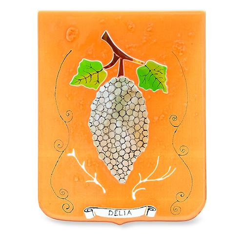 Family Crest: Delia Malta,Glass Family Crests Malta, Glass Family Crests, Mdina Glass