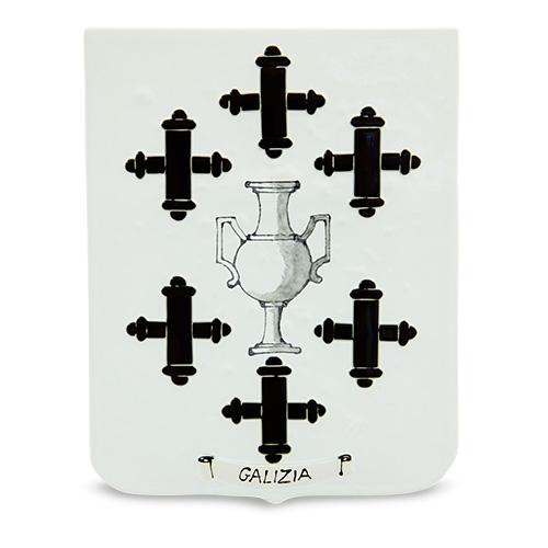 Family Crest: Galizia Malta,Glass Family Crests Malta, Glass Family Crests, Mdina Glass