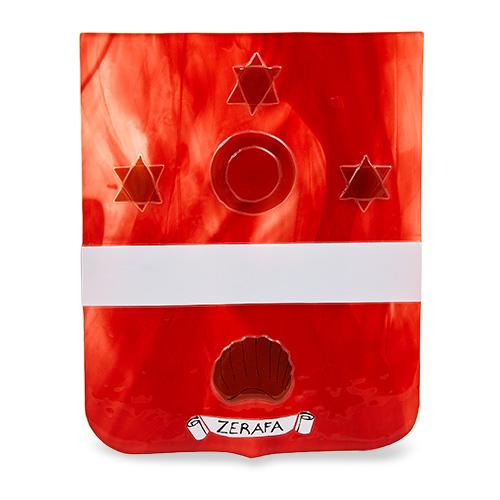 Family Crest: Zerafa Malta,Glass Family Crests Malta, Glass Family Crests, Mdina Glass