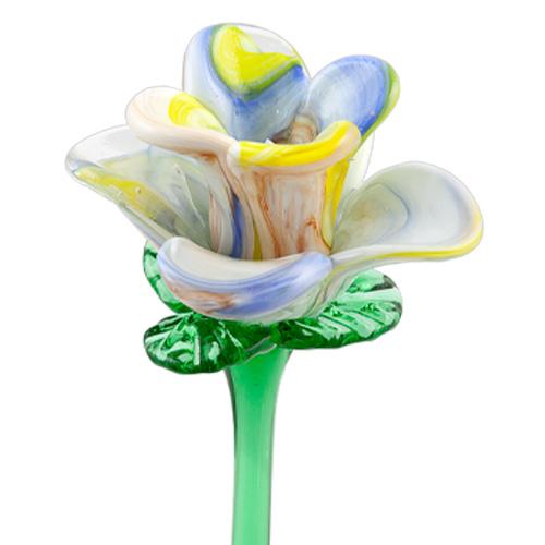 Multicoloured Flower Malta,Glass Flowers Malta, Glass Flowers, Mdina Glass