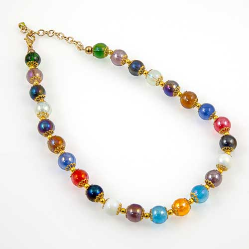 Glass Bead Necklace Malta,Glass Necklaces Malta, Glass Necklaces, Mdina Glass